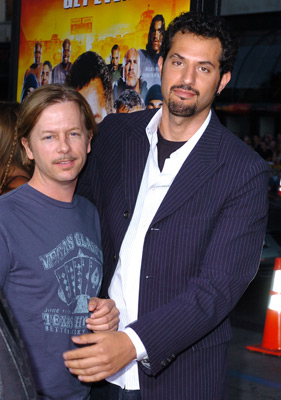 David Spade and Guy Oseary at The Longest Yard (2005)