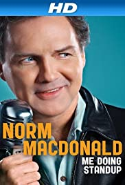 Norm Macdonald: Me Doing Standup Poster