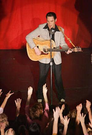 Jonathan Rhys-Meyers stars as Elvis Presley in the fact based 4 hour mini-series