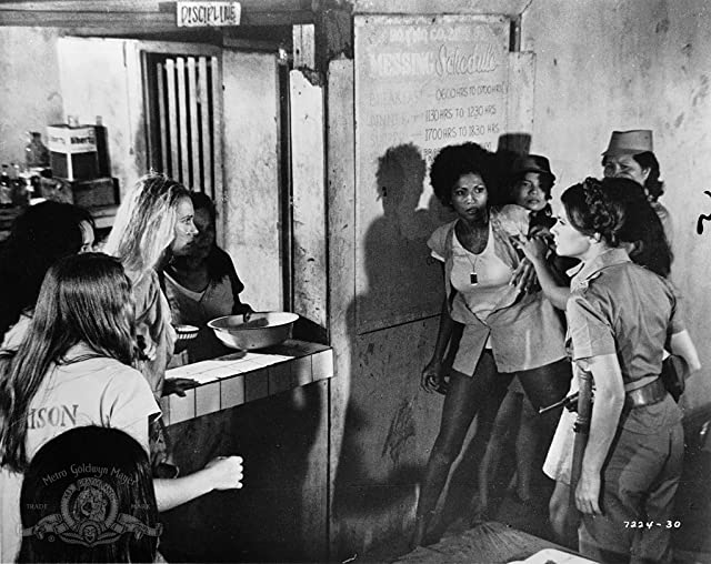 Pam Grier, Laurie Burton, and Margaret Markov in Black Mama White Mama (1973)