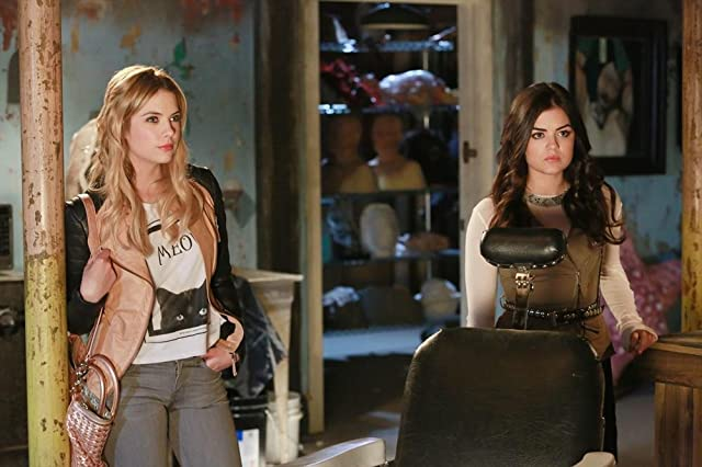Lucy Hale and Ashley Benson in Pretty Little Liars (2010)