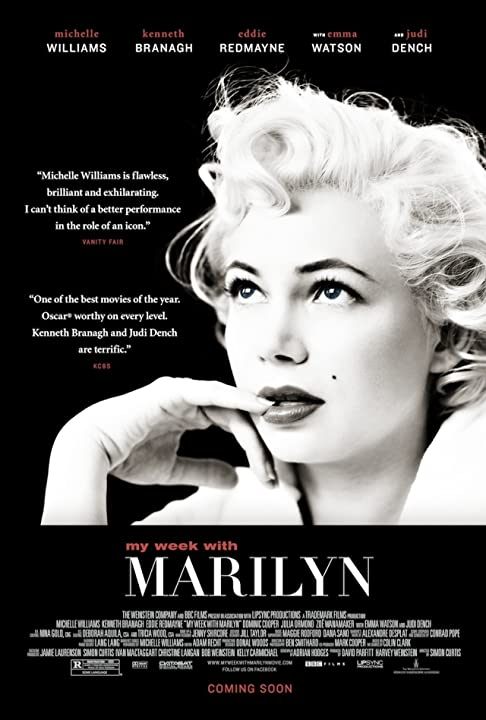 Michelle Williams in My Week with Marilyn (2011)