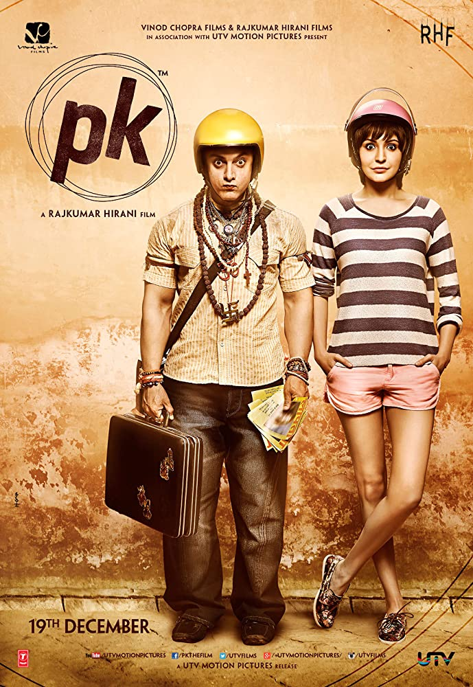 PK (2014) Hindi 720p BluRay 1.2GB