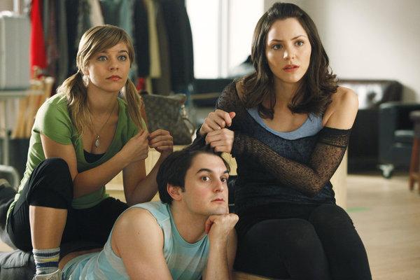 Wesley Taylor, Katharine McPhee, and Savannah Wise in Smash (2012)