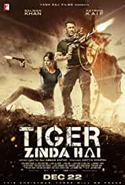 Tiger Zinda Hai 2017 Hindi DVDRip 700MB MSubs MKV
