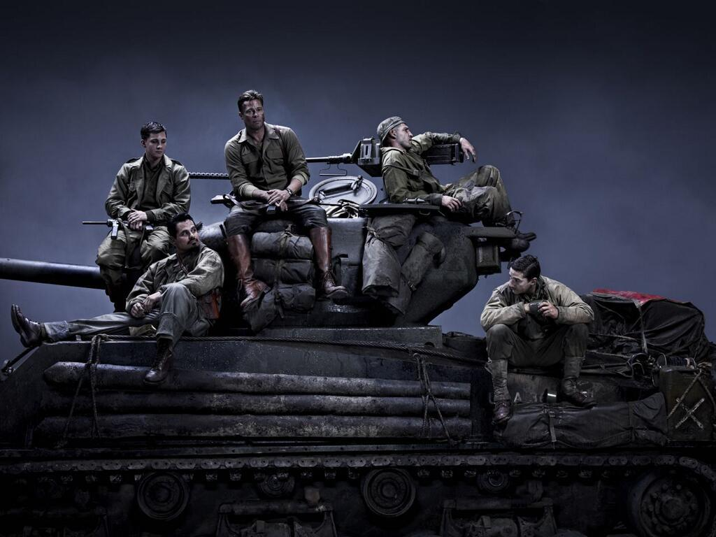 Fury - New official trailer fury starring brad pitt