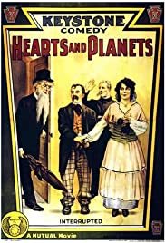 Hearts and Planets Poster