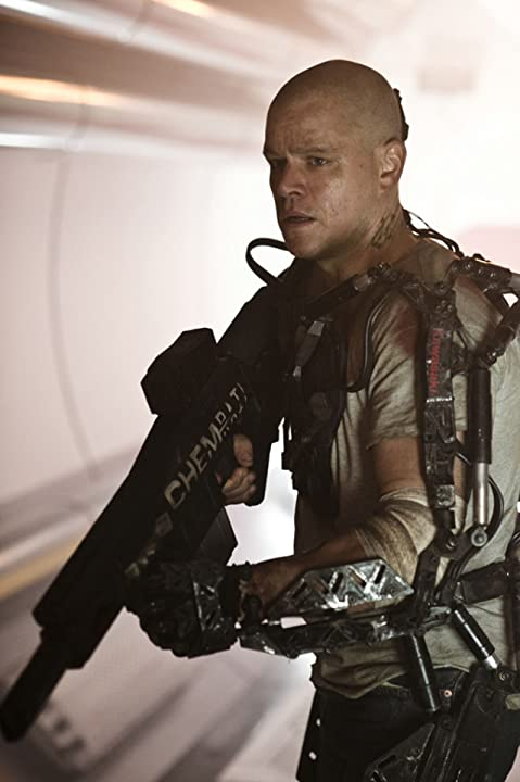 Matt Damon in Elysium (2013)