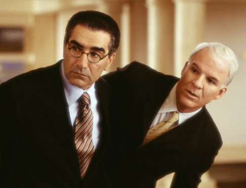 Steve Martin and Eugene Levy in Bringing Down the House (2003)
