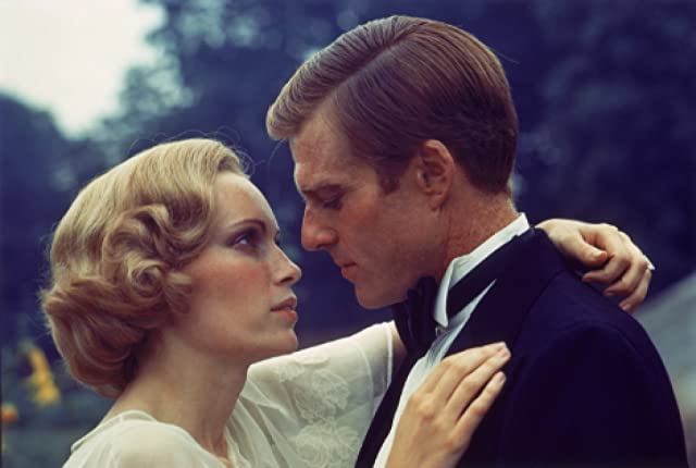 Robert Redford and Mia Farrow in The Great Gatsby (1974)