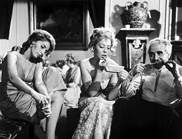 Jacqueline Andere, Enrique García Álvarez, and Silvia Pinal in The Exterminating Angel (1962)