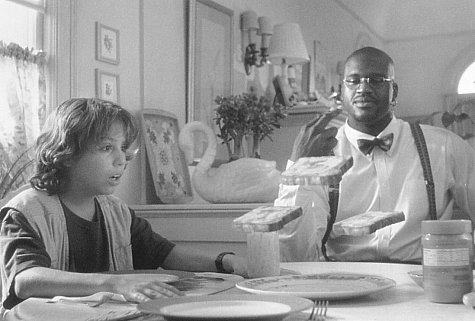 Francis Capra and Shaquille O'Neal in Kazaam (1996)