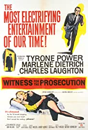 Witness for the Prosecution (1957) Poster - Movie Forum, Cast, Reviews