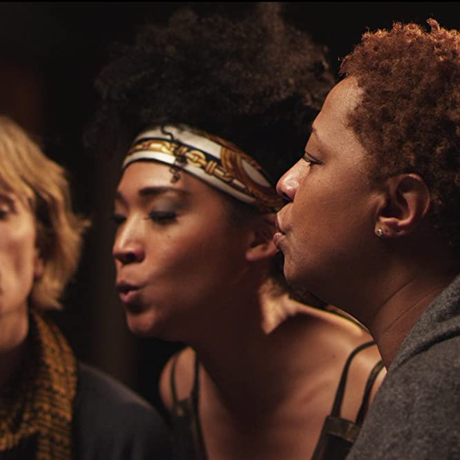 Morgan Neville and Lisa Fischer in Twenty Feet from Stardom (2013)
