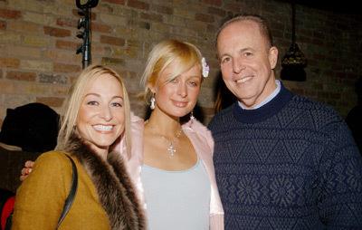 Paris Hilton, Jim Berkus, and Emily Glassman