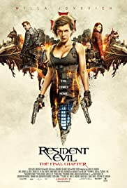 Resident Evil The Final Chapter 2016  BluRay H264 AAC
