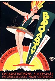 Broadway (1929) Poster - Movie Forum, Cast, Reviews