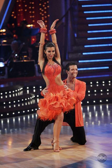 Kim Kardashian West and Mark Ballas in Dancing with the Stars (2005)