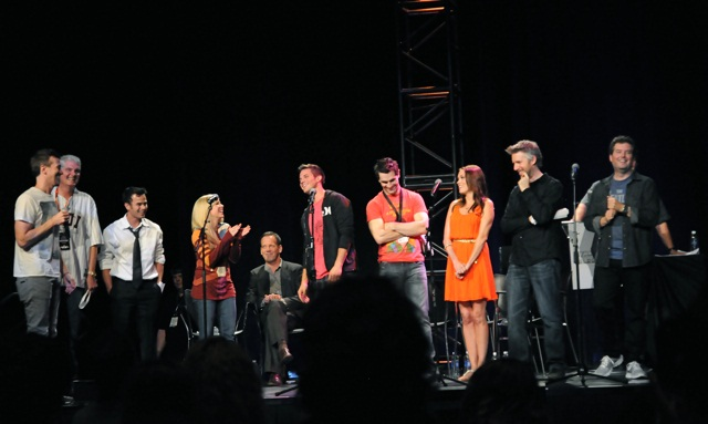 "The cast of ""Smuggler's Gambit"""