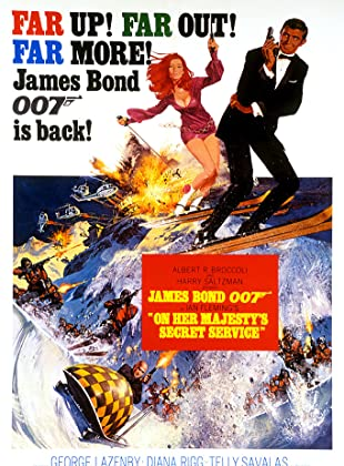 007 ยอดพยัคฆ์ราชินี - James Bond 007 On Her Majestys Secret Service