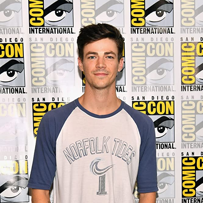 Grant Gustin at an event for The Flash (2014)