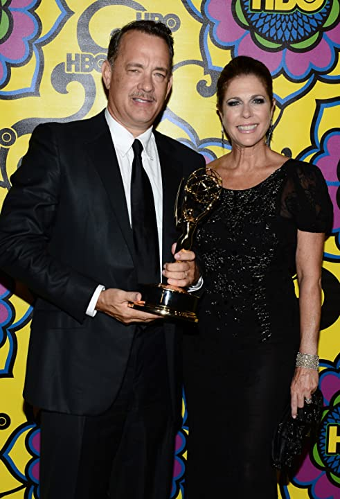 Tom Hanks and Rita Wilson at The 64th Primetime Emmy Awards (2012)