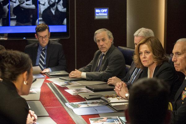 Sigourney Weaver in Political Animals: Pilot (2012)