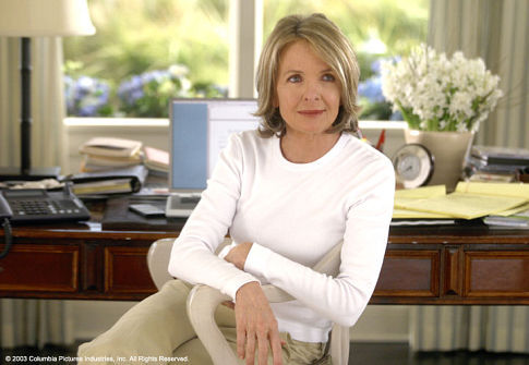 Diane Keaton in Something's Gotta Give (2003)