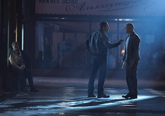 Bruce Willis, Sebastian Koch, and Jai Courtney in A Good Day to Die Hard (2013)