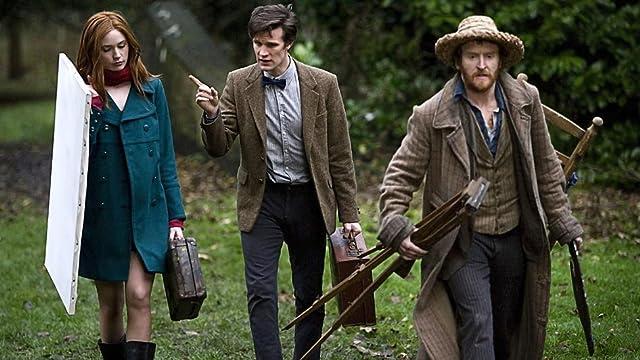 Tony Curran, Matt Smith, and Karen Gillan in Doctor Who (2005)