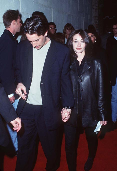 Shannen Doherty at an event for The Basketball Diaries (1995)