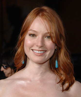 Alicia Witt at an event for Forgetting Sarah Marshall (2008)