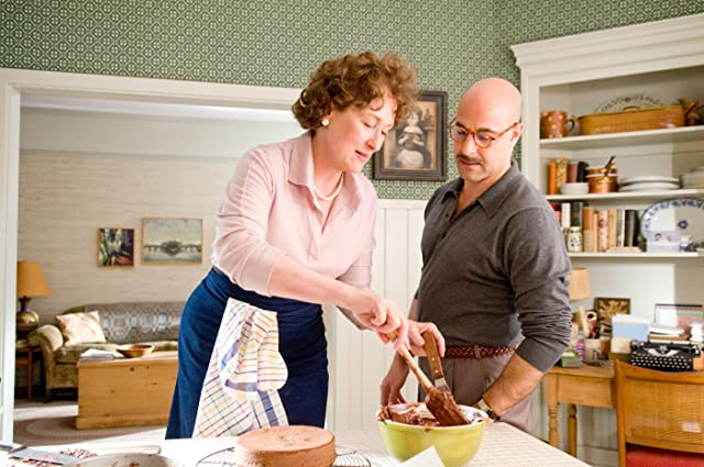 Meryl Streep and Stanley Tucci in Julie & Julia (2009)