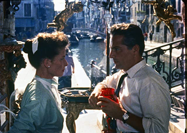 Katharine Hepburn and Rossano Brazzi in Summertime (1955)