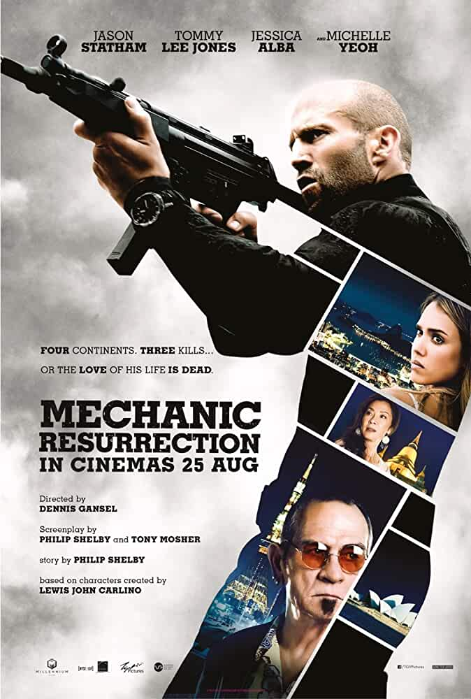 Mechanic Resurrection 2016 Hindi Dual Audio 720p Esub BlyRay full movie watch online free download at movies365.lol