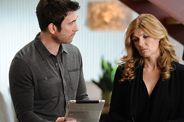 Dylan McDermott and Connie Britton in American Horror Story (2011)