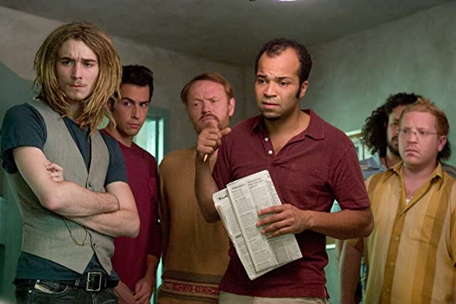Jared Harris, Joseph D. Reitman, Jeffrey Wright, John Boyd, and Grant Monohon in Lady in the Water (2006)