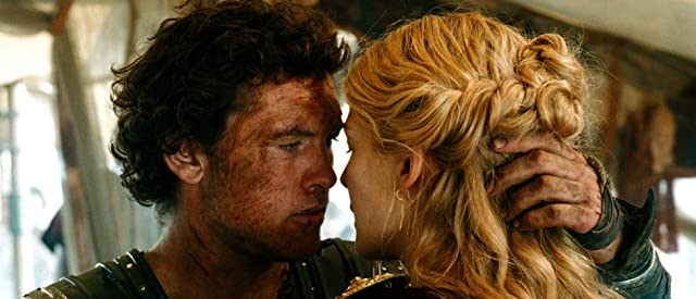 Rosamund Pike and Sam Worthington in Wrath of the Titans (2012)
