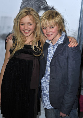 Spencer List and Peyton List at an event for Remember Me (2010)