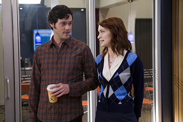 Brendan Hines and Felicia Day in Lie to Me (2009)