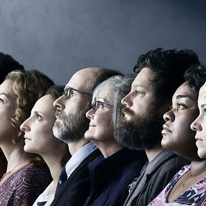 Ana Gasteyer, Nancy Lenehan, Brian Huskey, Oscar Nuñez, Wyatt Cenac, Tracee Chimo, Alice Wetterlund, Luka Jones, and Da'Vine Joy Randolph in People of Earth (2016)