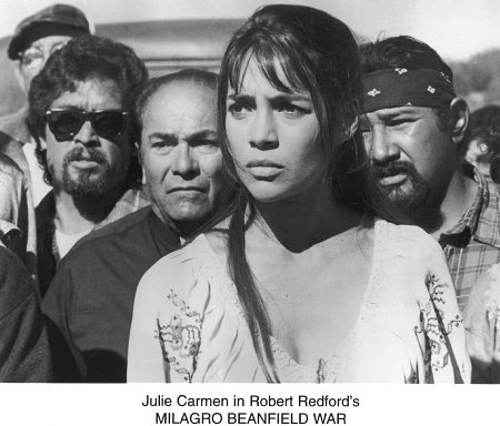 Julie Carmen in The Milagro Beanfield War (1988)