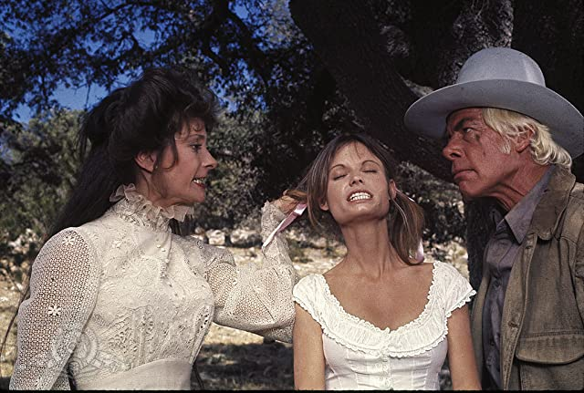 Kay Lenz, Lee Marvin, and Elizabeth Ashley in The Great Scout & Cathouse Thursday (1976)