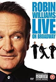 Image result for robin williams live on broadway