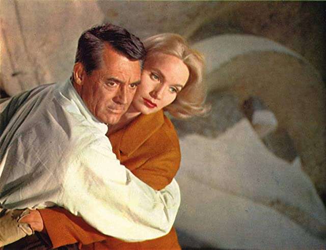 Cary Grant and Eva Marie Saint in North by Northwest (1959)