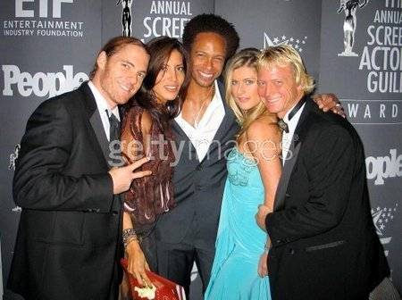 11th Annual Screen Actors Guild Awards 2005 - Red Carpet with CSI/Winner Gary Dourdan - Outstanding Cast in a TV Drama Award