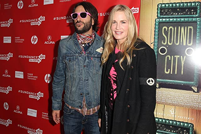 Daryl Hannah and Rami Jaffee at an event for Sound City (2013)