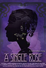 A Single Rose Poster