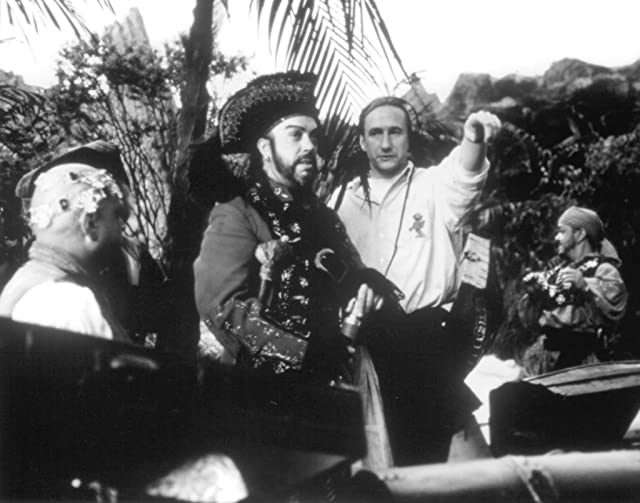 Tim Curry and Brian Henson in Muppet Treasure Island (1996)