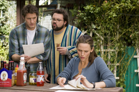 Kevin Smith, Jennifer Garner, and Sam Jaeger in Catch and Release (2006)